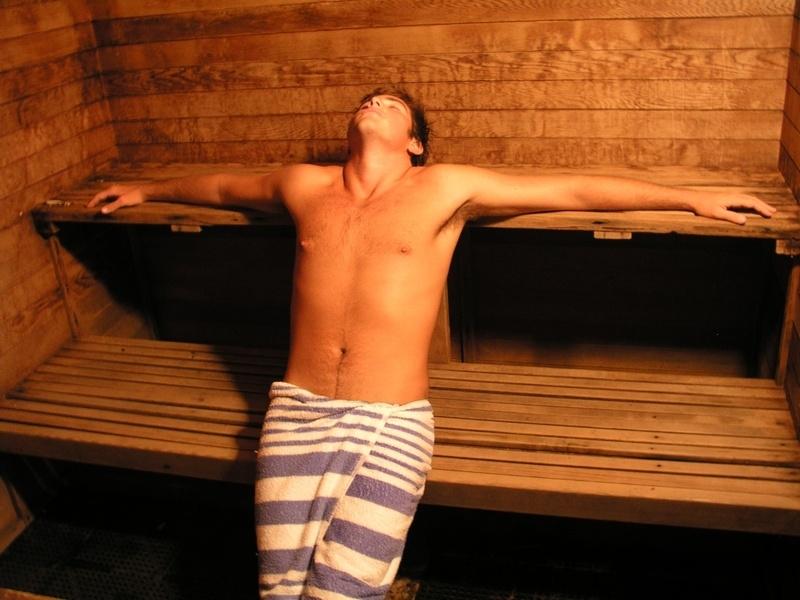 Finn sauna man